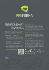 22. PREFORMA Project: Future Memory Standards