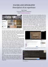 20. FLICKR AND EPIGRAPHY. Description of an experience