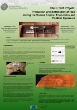 19. The EPNet Project. Production and distribution of food during the Roman Empire: Economics and Political Dynamics