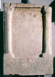 Funerary monument of Rusticus