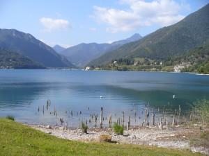 lago di Ledro, Trentino, Italia